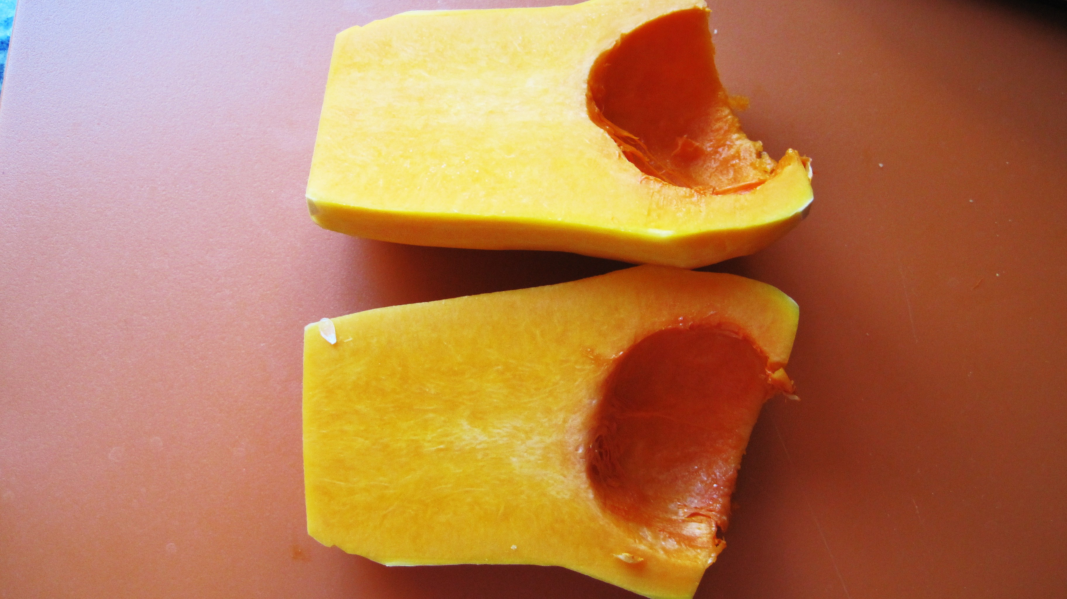 how to cut butternut squash for fries