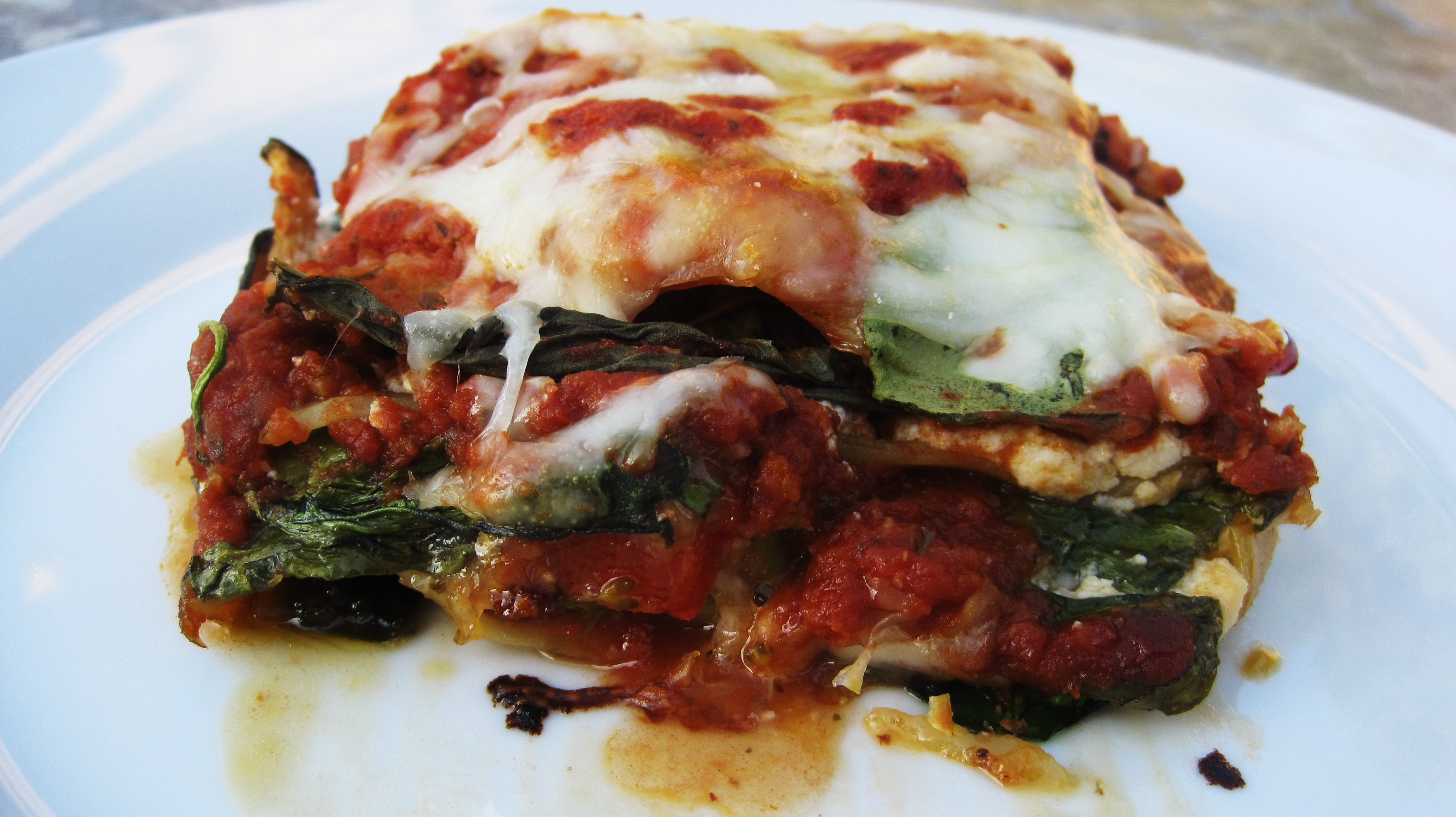 noodles vegetable lasagna cheesy baked eggplant recipe the eggplant is ...